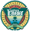 Conde Nast Traveler Best Island in the World 2011 award